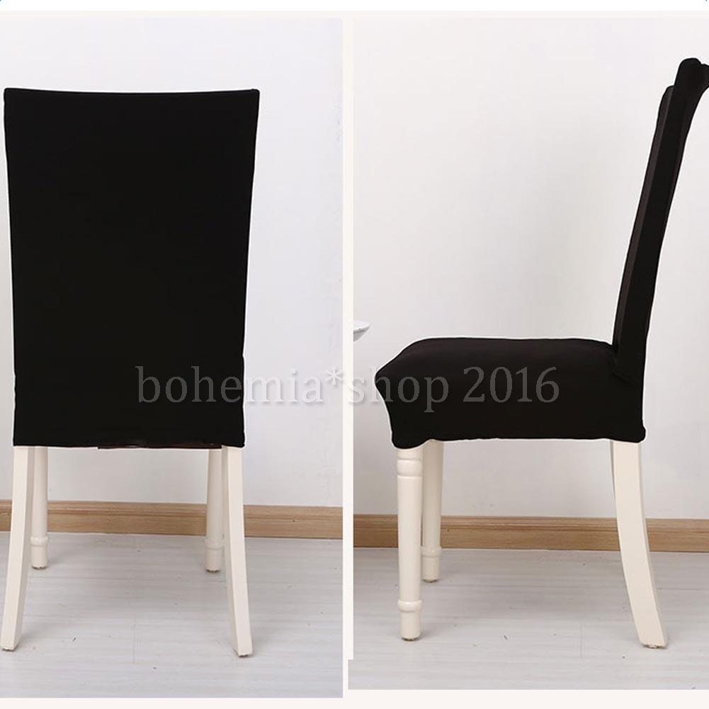 2 6 x strechhusse stuhl berzug stuhlbezug hussen. Black Bedroom Furniture Sets. Home Design Ideas