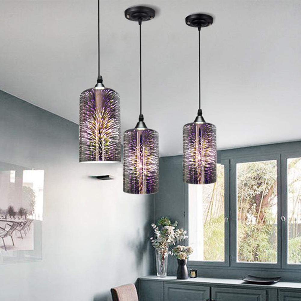 Details about Ceiling Light 12D Fireworks Lamp Glass Pendant Light  Chandeliers Fixtures E12