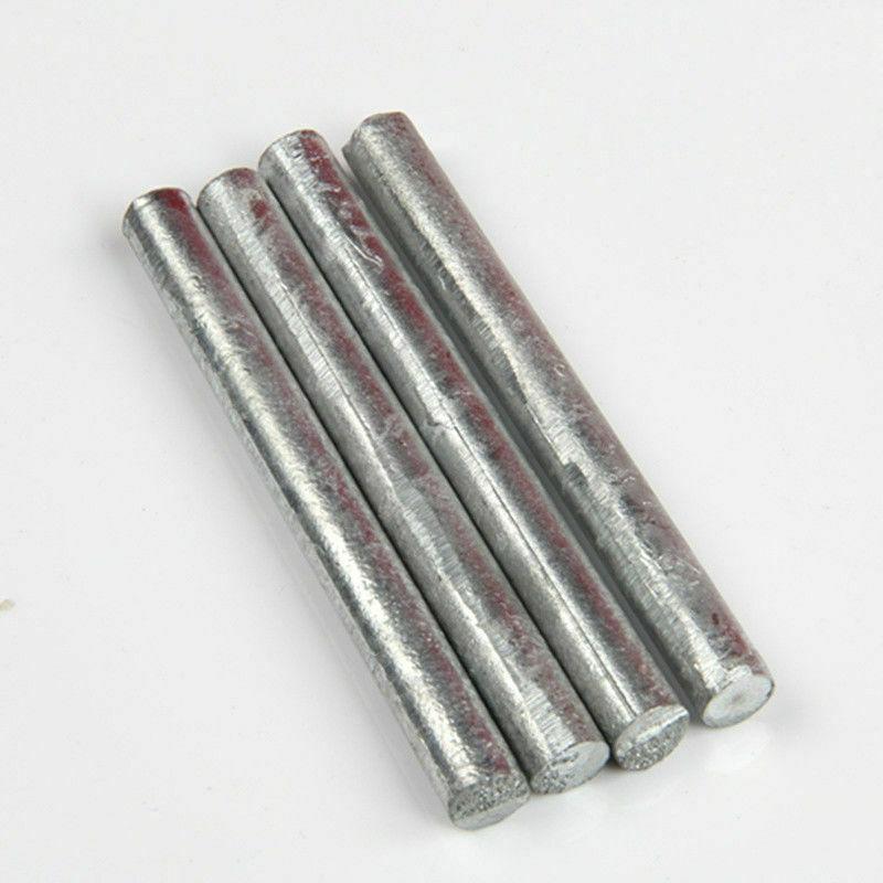 2-20mm Pure Nickel Ni Rod Zinc Zn Bar Round Solid Metal Shaft Anode 100 300mm