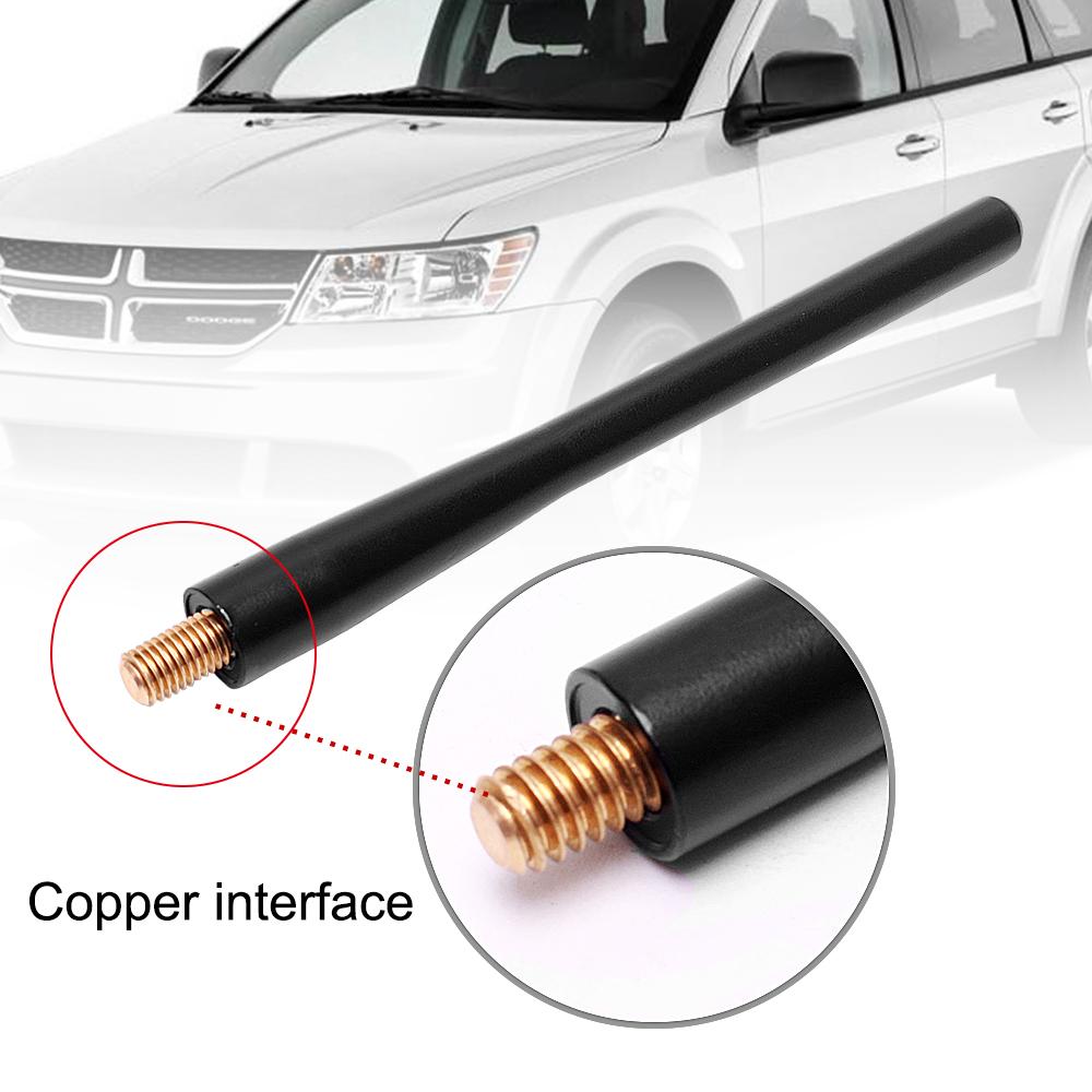 Car Short Stubby Radio Antenna Aluminum For Dodge RAM 1500 2500 3500 2009-2017