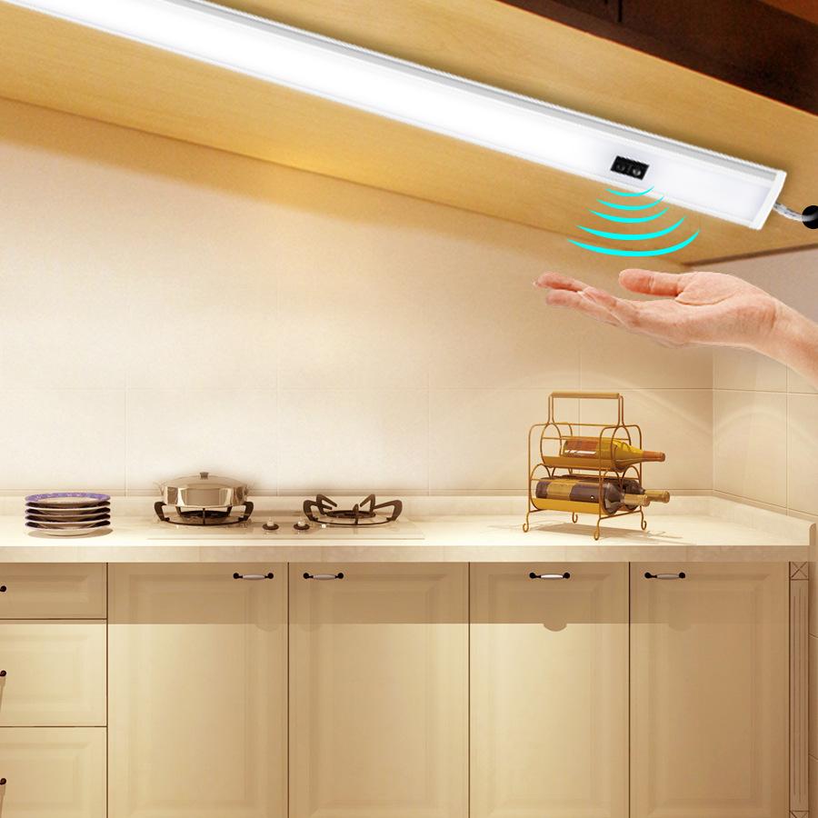 3 Leds LED Touch Lampe Unterbauleuchte Batteriebetrieb für Küchen Schrank