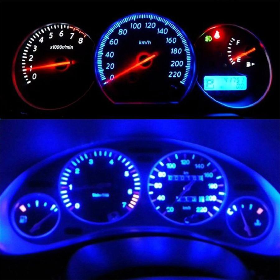 Lots T5 B8.5D Gauge 5050 1SMD LED Car Dashboard Dash Side Lights Bulbs Indicator