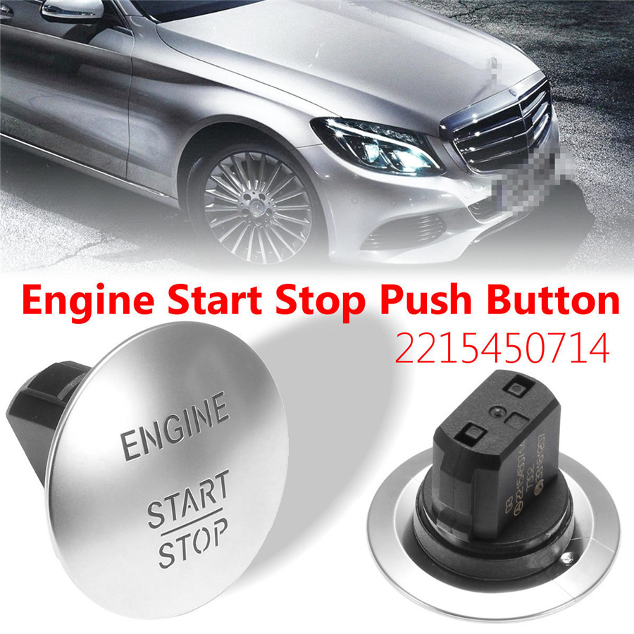 OEM# 2215450714 For Mercedes Benz Start Stop Push Button Ignition Switch Keyless