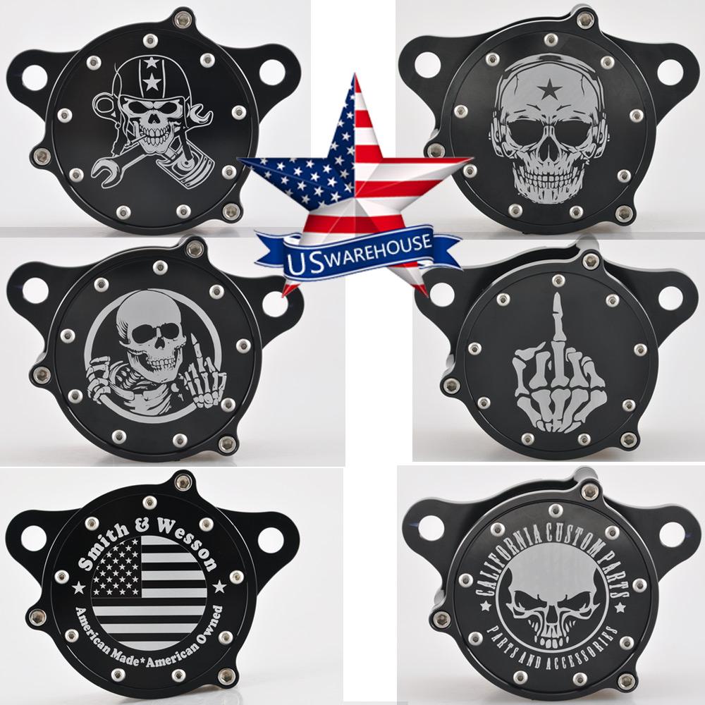 Skull Finger Air Cleaner Filter For Harley Sportster XL883 1200 48 72 2004-2016