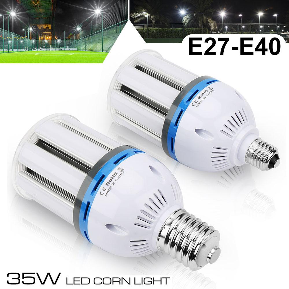 E40 35W 65W 140W Weiß LED Glühbirne Birne Mais Licht Leuchtmittel Lampe 6000K