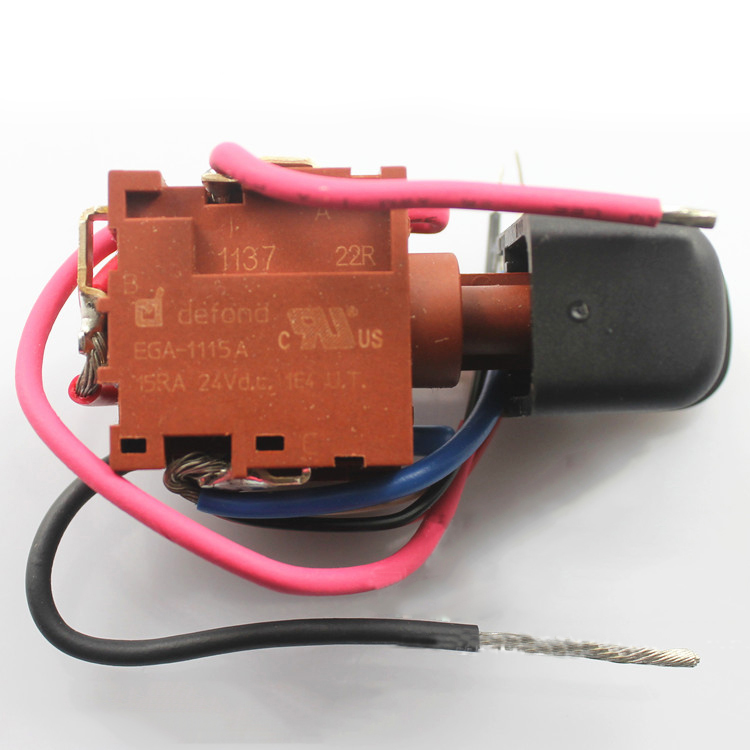 DEFOND EGA-1115A Power Trigger Switch With Wires For Electric Drill Power  Tool 787446573946   eBayeBay