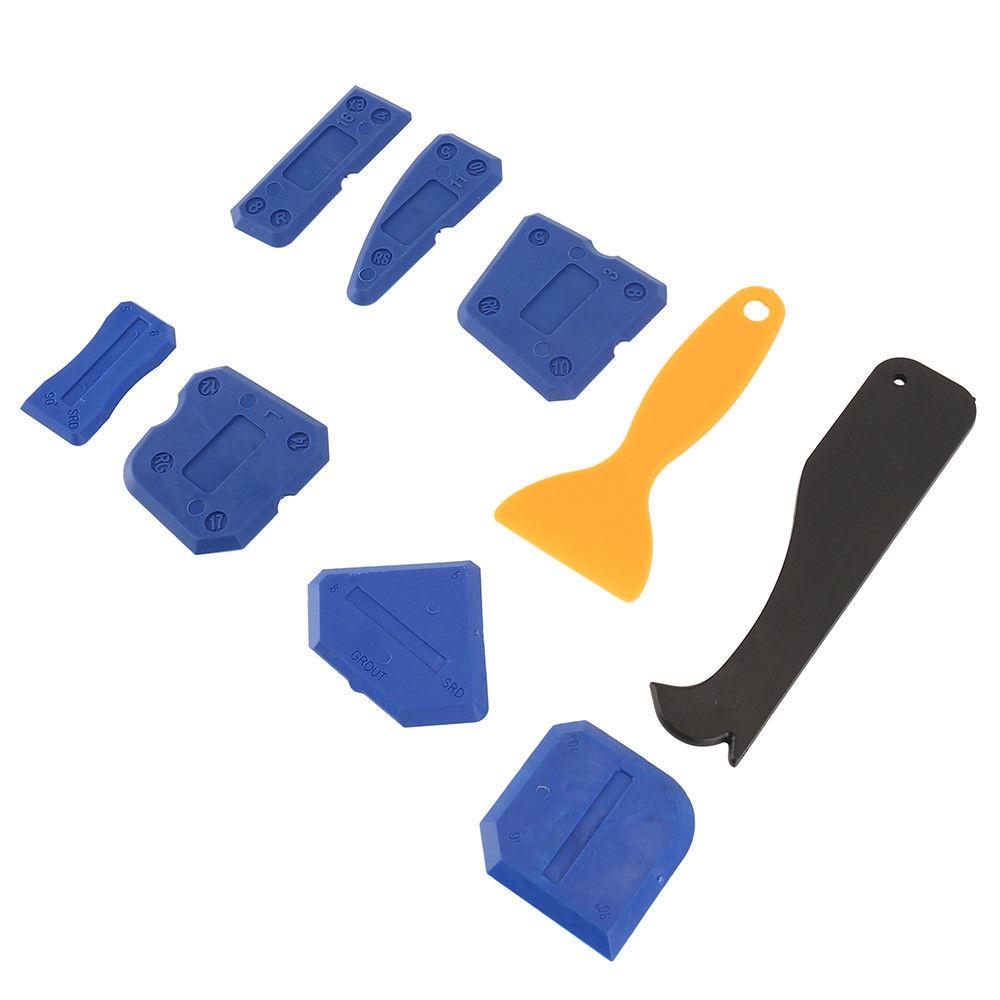 9 Pcs Silicone Sealant Spreader Profile Applicator Tile