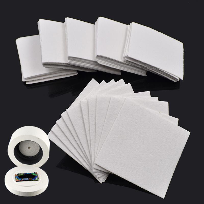 diy glasschmuck glas schmelzen matte unterlage melt w rmeisolierung 10 50 stk ebay. Black Bedroom Furniture Sets. Home Design Ideas