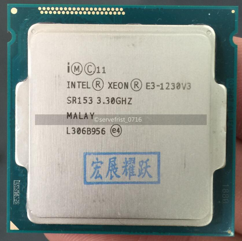 Intel Xeon E3-1230 v2 SR0P4 3.3GHz Quad Core LGA 1155 CPU Processor *km