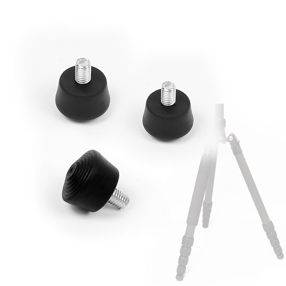 8a0eb0ba574 Details about 3PCS M8 Anti-slip Universal Rubber Tripod Spike Toe Foot fr  4K Camera Support