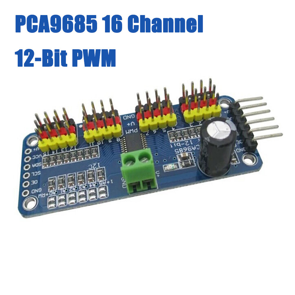 16 Channel PCA9685 12-bit PWM Servo motor Driver I2C Module Robot Arduino