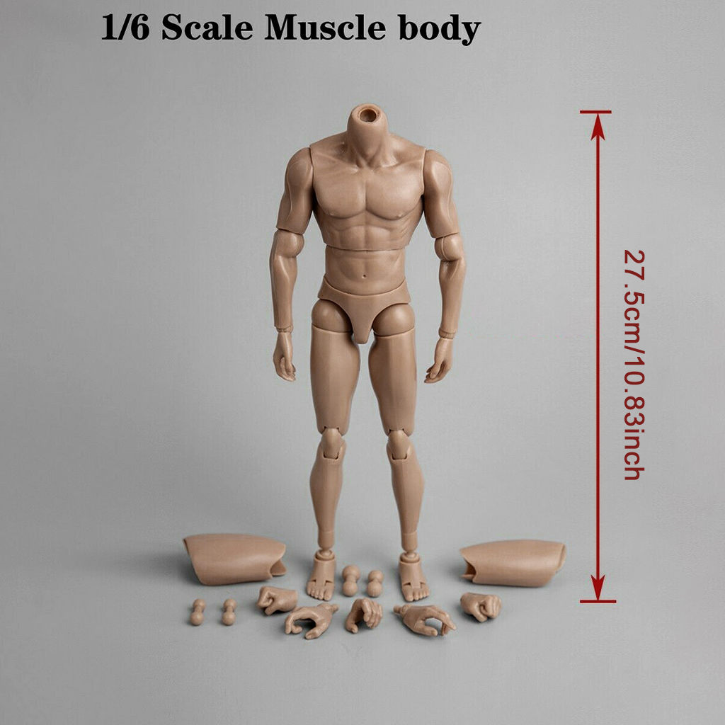 [WB-AT004] World Box Articulated Male Body with Character