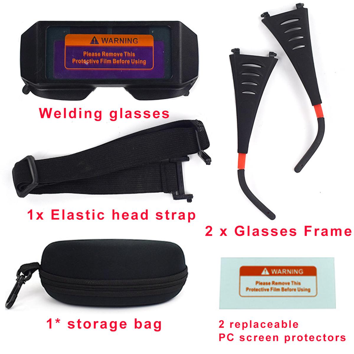 Auto Solar Verdunkelung Schweißbrille Maske Brille Helm Augen Blendschutz Brille