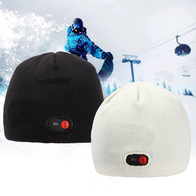 Details about Unisex Electric Heated Hats Thermal Knitted Winter Warm Hat  Ski Cap F Men Women 4ea22ef0ba2