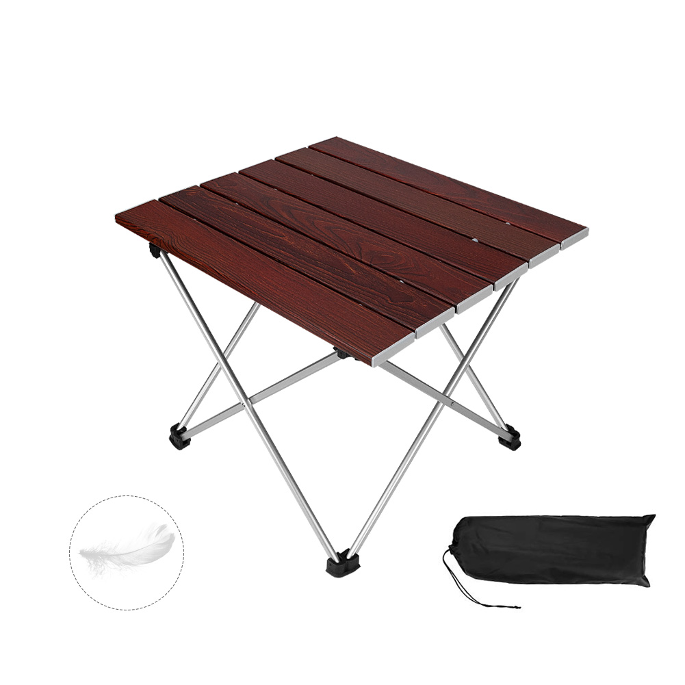 Picnic MORINN Folding Camping Table Useful for Dining /& Cooking with Burner Beach Portable Aluminum Lightweight Folding Table in a Bag Outdoor for Grill
