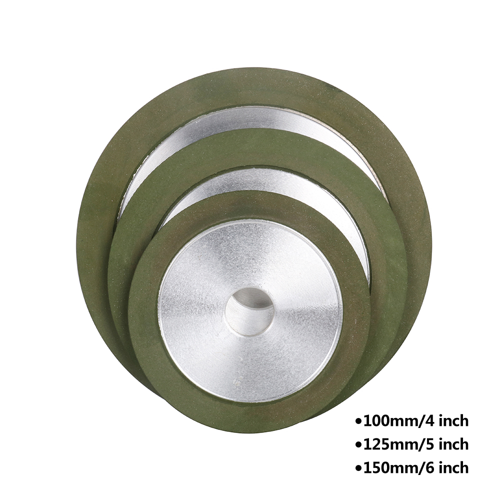 6 Inch Resin Diamond Grinding Wheel Carbide Grinder Disc Cutter Sharpener Tool