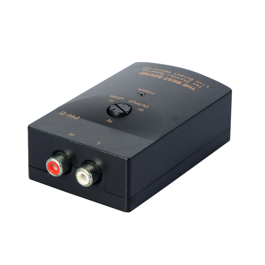 Car Stereo Audio Rca Speaker High To Low Level Line Converter With Amp Wiring Harness Factory Adapter Wire