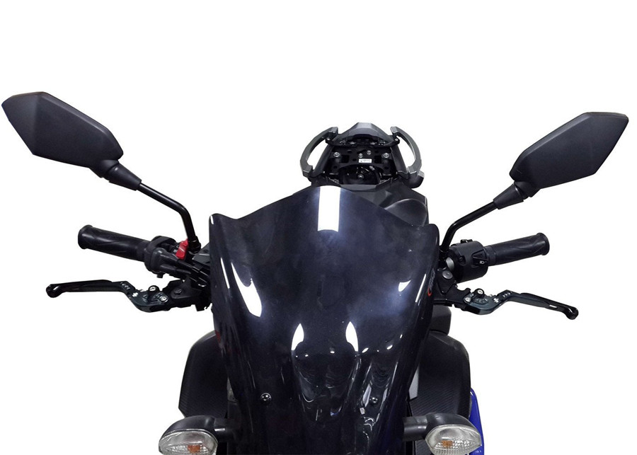2x kunststoff metall motorrad r ckspiegel motorrad spiegel schwarz 8mm gewinde ebay. Black Bedroom Furniture Sets. Home Design Ideas