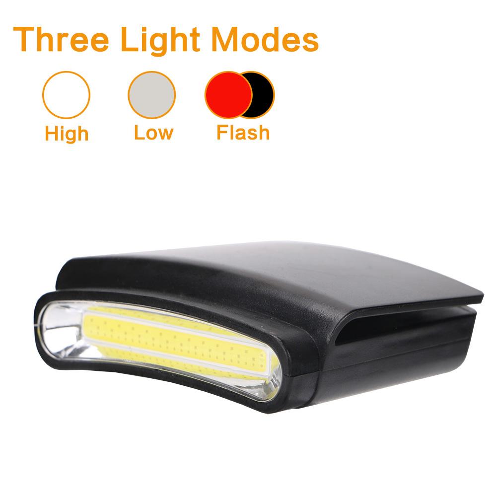4 Mode COB LED Headlamp Headlight Camping Head Torch Portable Lamp Light AAA Hot
