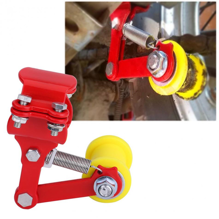Details about Universal Motorcycle Adjuster Chain Tensioner Modified  Accessories Iron+Plastic