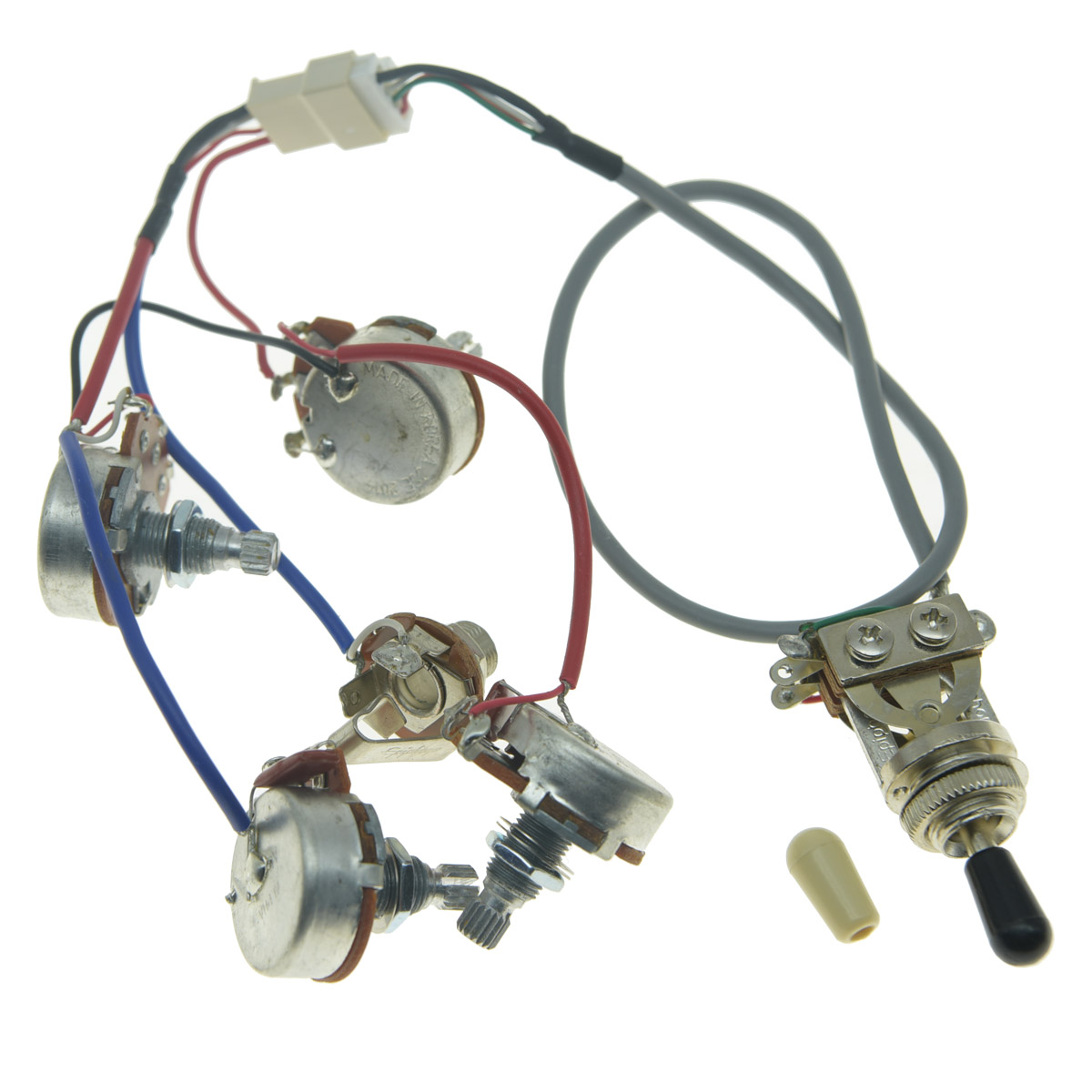 Remarkable Genuine Lp Pickups Wiring Harness With Full Size Pots For Epiphone Wiring Database Hyediarchgelartorg