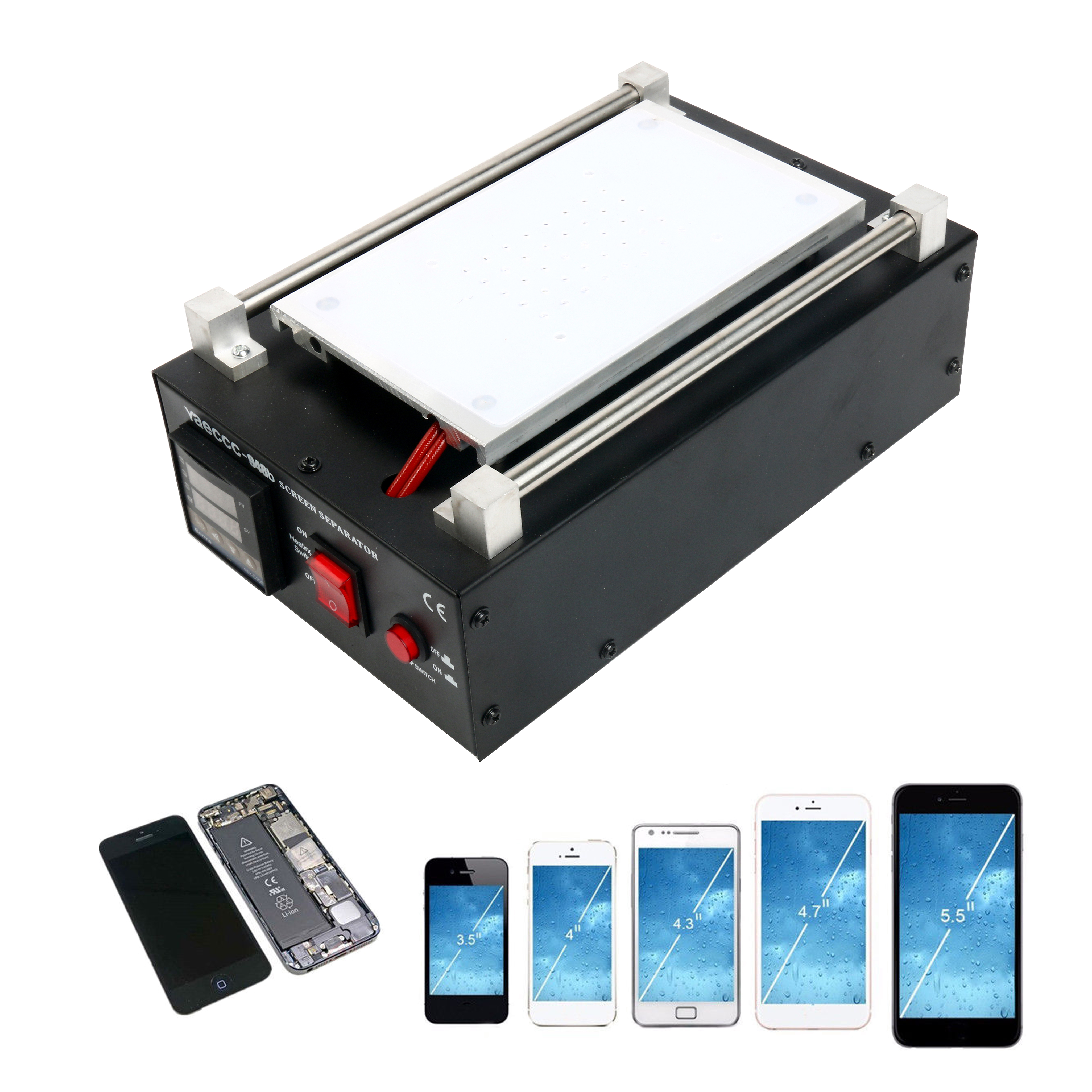LCD Screen Separator Machine Touch Smartphone Screen Removal Cell ...
