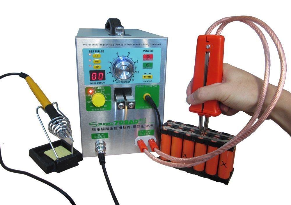Intelligent Induction Automatic Trigger Spot Welder 220V//110V New 4-In-1 709AD