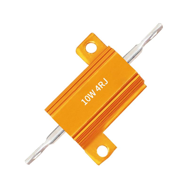 Neu 1R//2R//4R//8R//10R Ohms 100W Widerstand Hochlast Leistungswiderstand Kühlkörper