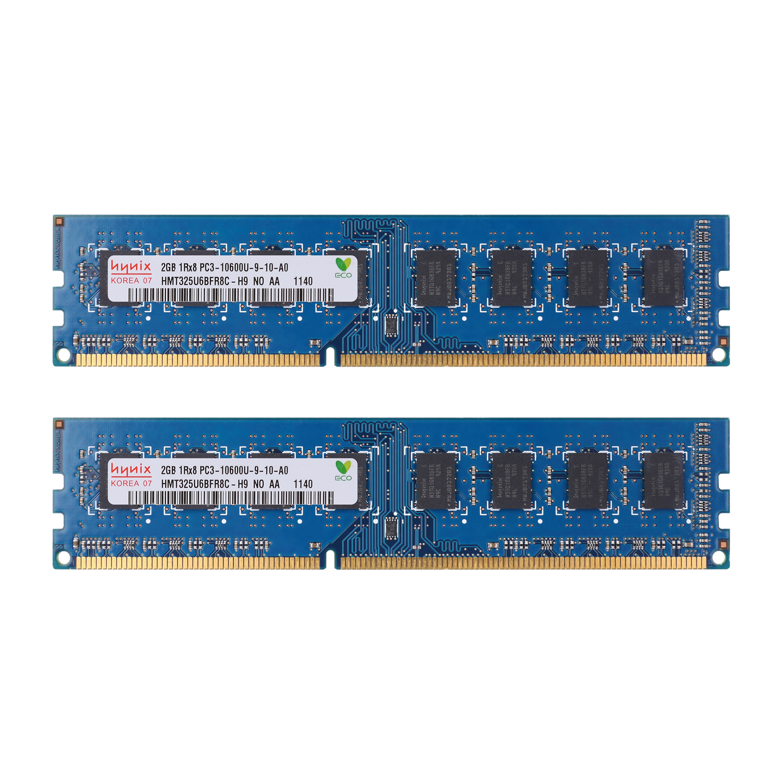 lot RAM DDR3-1333MHZ DIMM for Kinston Desktop Memory PC3-10600 4GB 2x2GB 240Pin