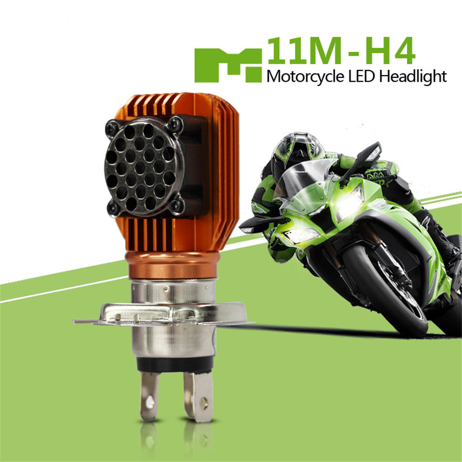 12v h4 led motorrad lampe birne fern abblend scheinwerfer nebelscheinwerfer 20w 6657427506314 ebay. Black Bedroom Furniture Sets. Home Design Ideas