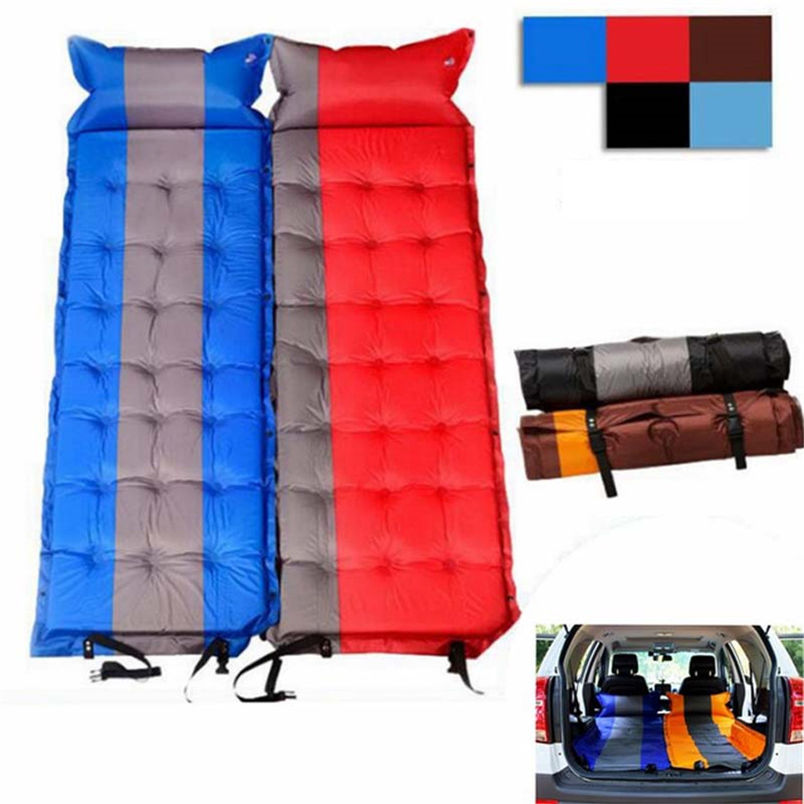 PVC Blue Ash 5CM Moisture-proof Pad Outdoor Mat Car Travel Bed Air Universal