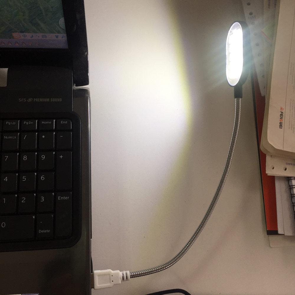 Flexible Computer LED Night USB Keybord Reading Lamp Flashlight Light Torch