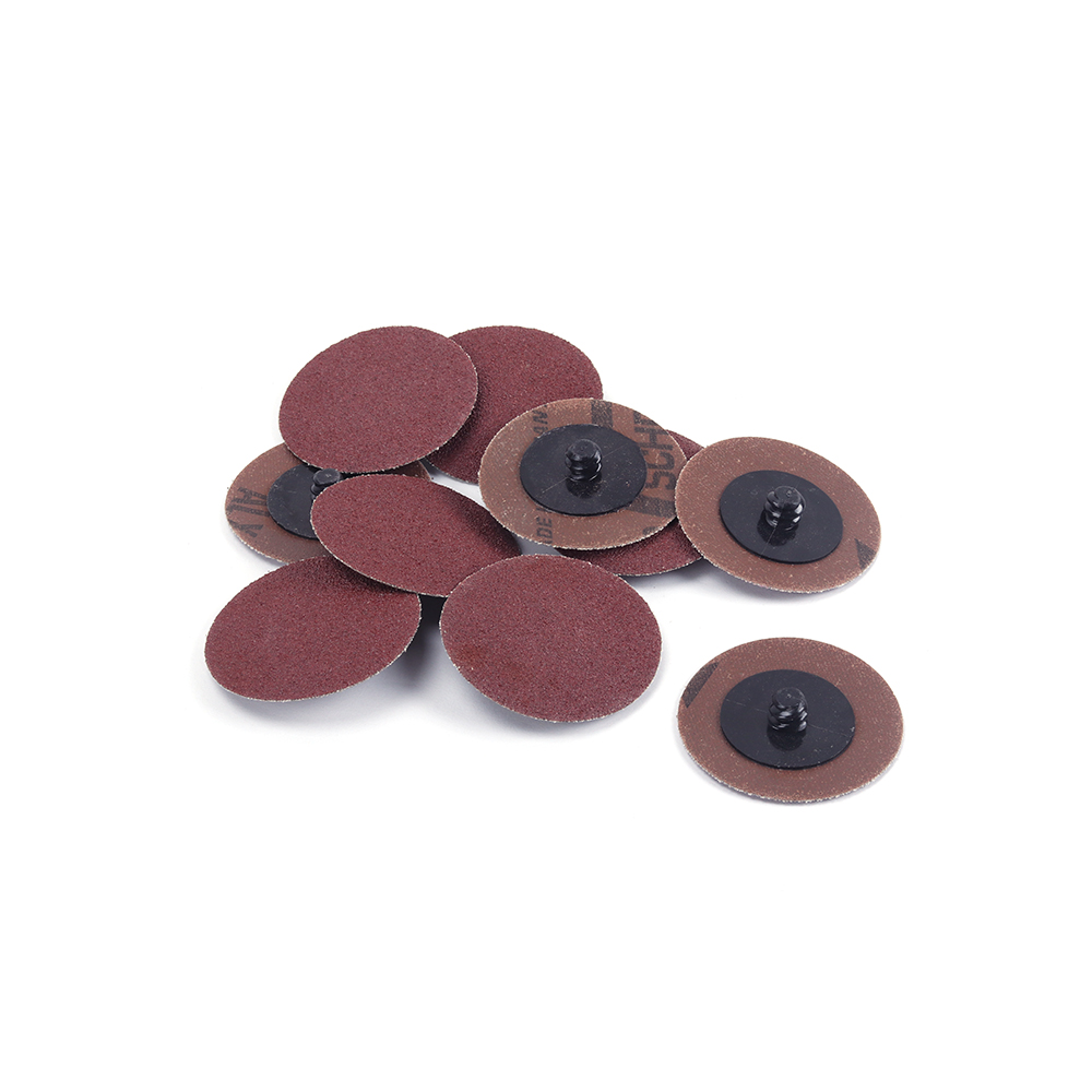 120pcs 50mm Sanding Discs pads 60-3000 Grit 50mm Type R Roloc Abrasive Roll Lock