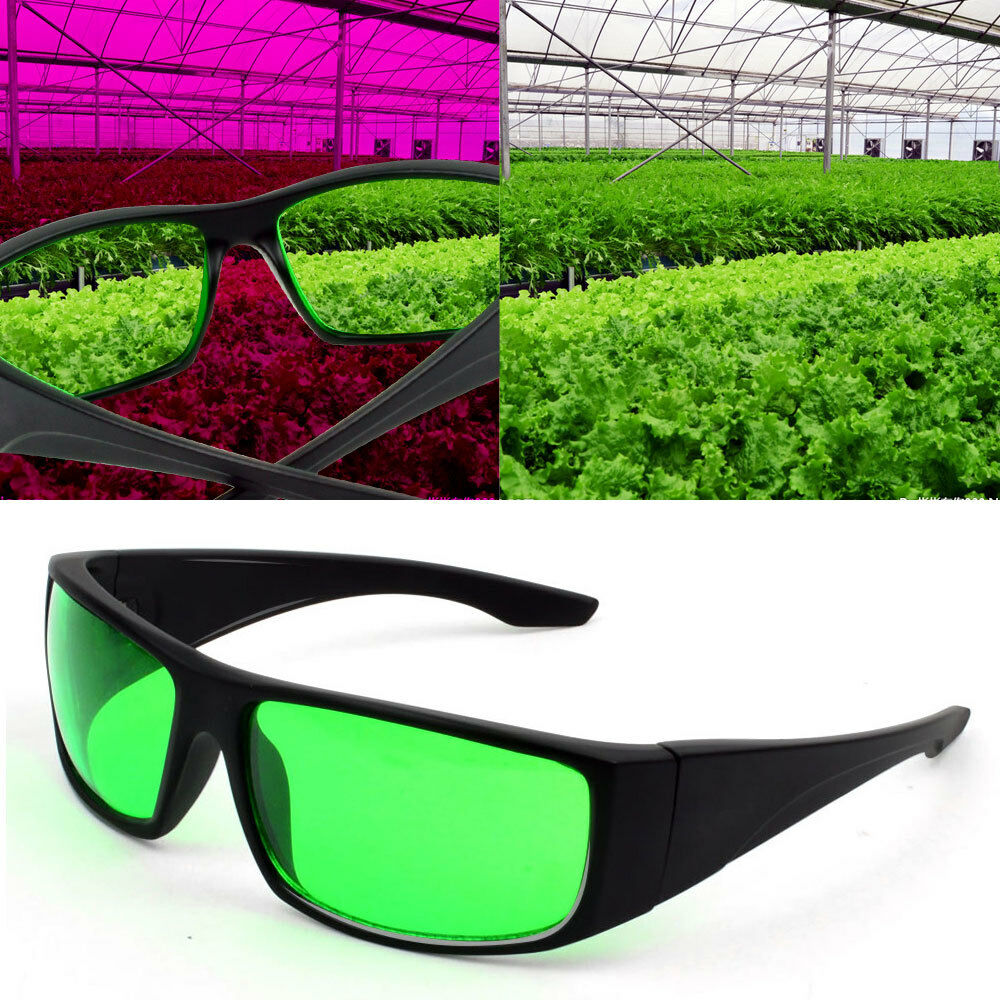 """Grow Room Safety Glasses Anti /"""" Reflection Glare Protection Color Correction"""
