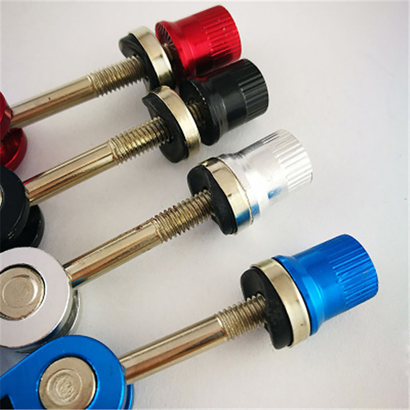 MTB Bicycle Bike Quick Release Seat Post Seatpost Clamp Bolt Binder Skewer Use
