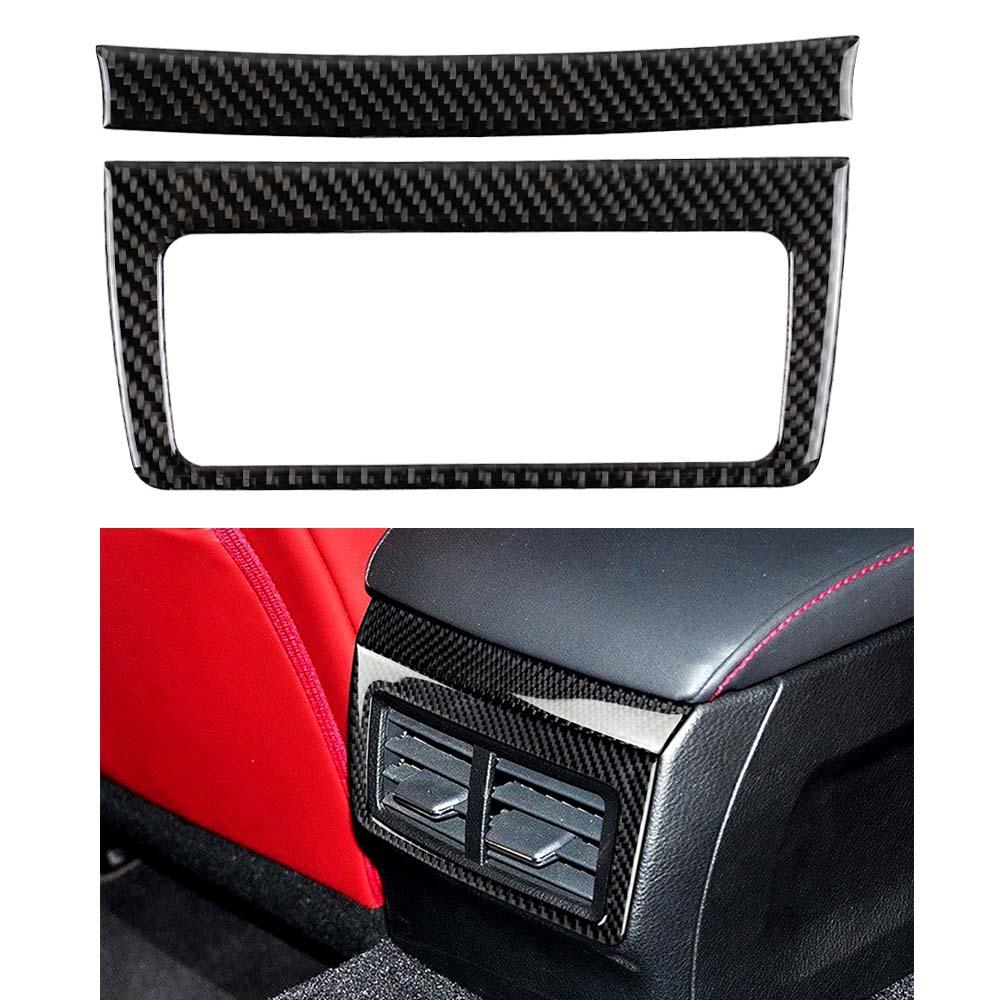 For LEXUS IS250//300//350//200 Carbon Fiber Center Air Vent Outlet Frame Trim 14-18