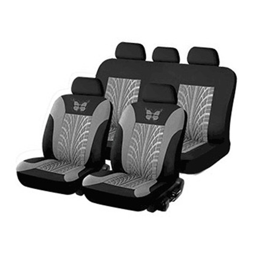 Deluxe Black Massage Black Massaging Seat Cover Protector Car Van Truck