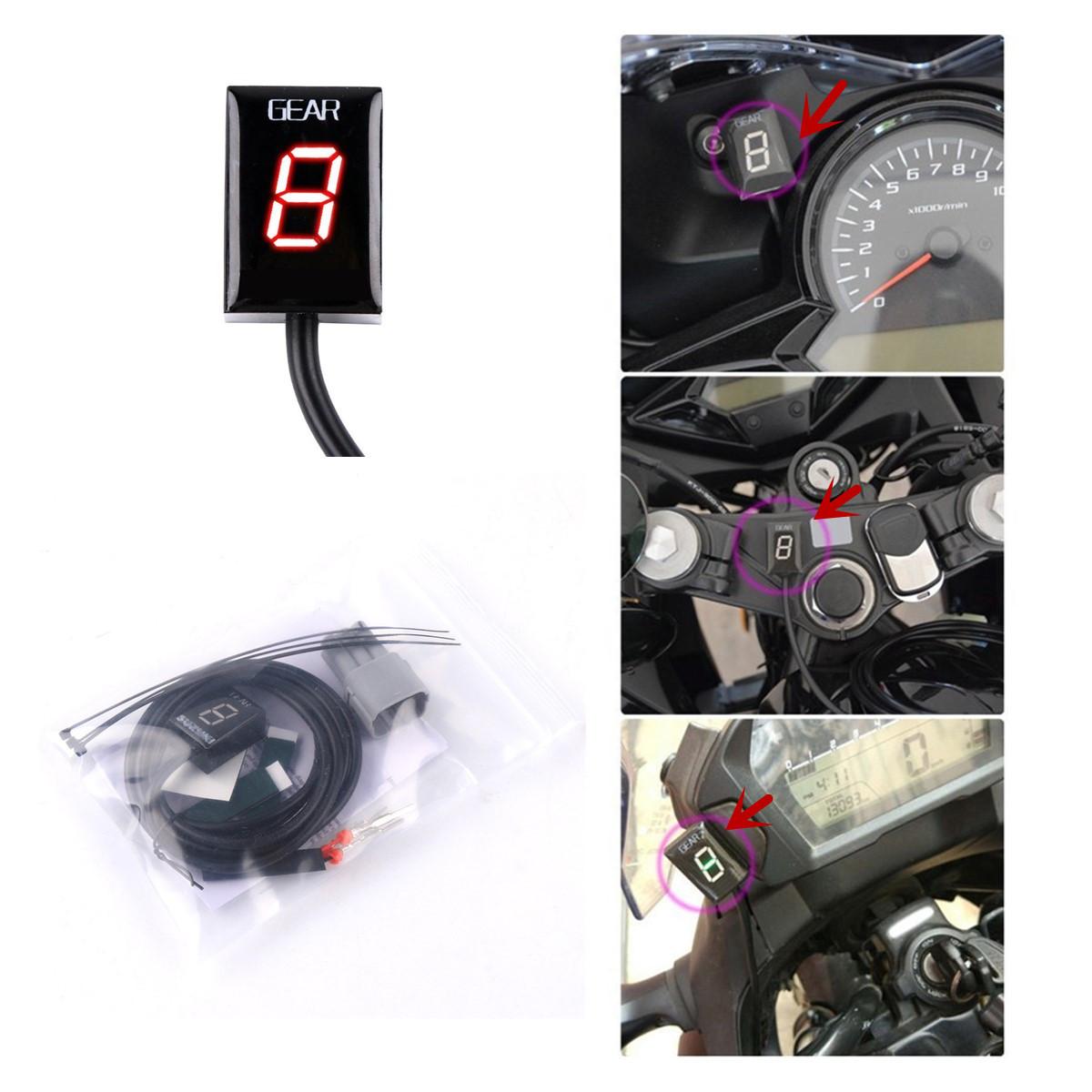 Plug and Play gear indicator 2003-2009 FOR SUZUKI  SV1000