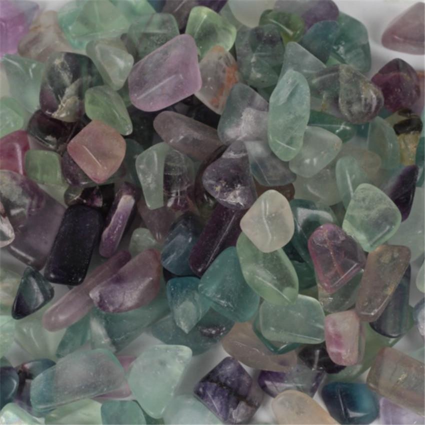 Fluorite Ore Crushed Gravel Stone Chunk Lots Degaussing yoga Meditation mala