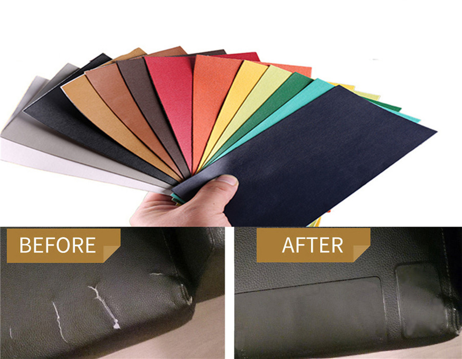 Adhesive Leather Repair Patch For Motorcycle Seat Couch
