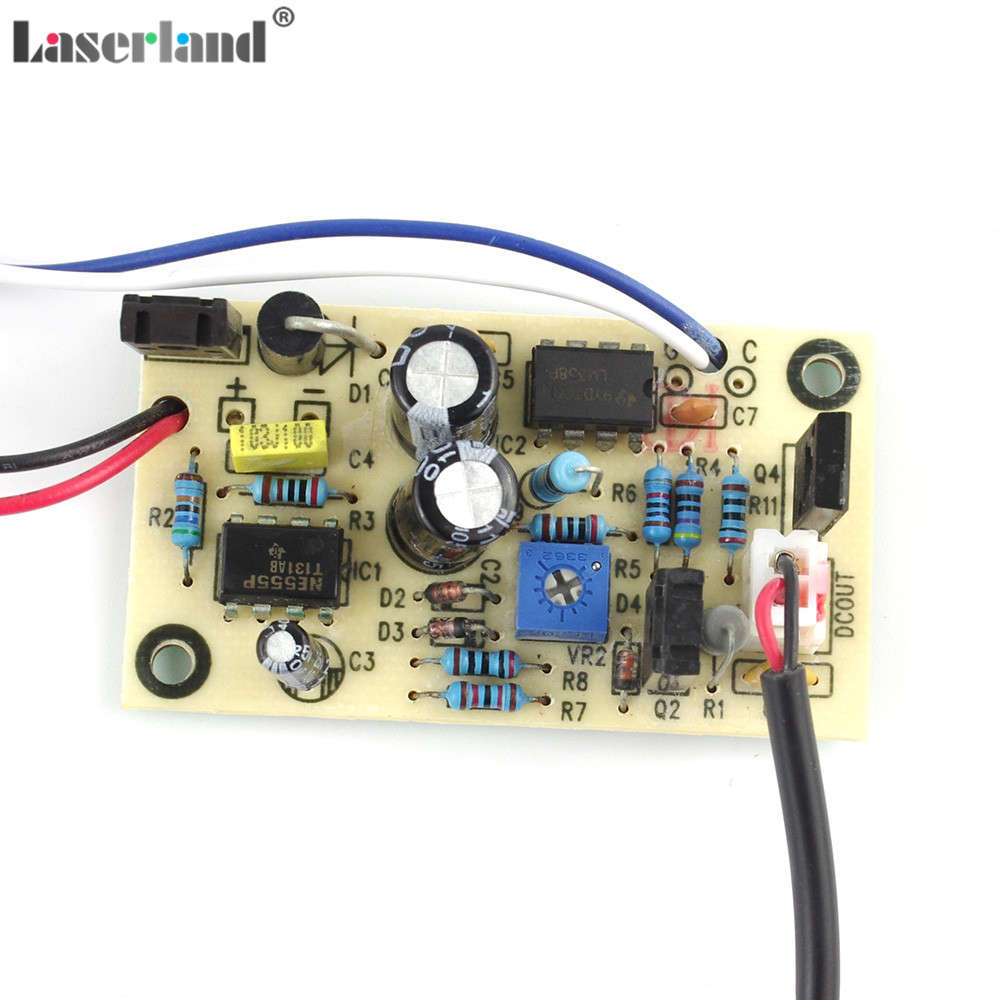 100mw 650nm 655nm 660nm Red Laser Diode Module W Driver 712201487855 Circuit
