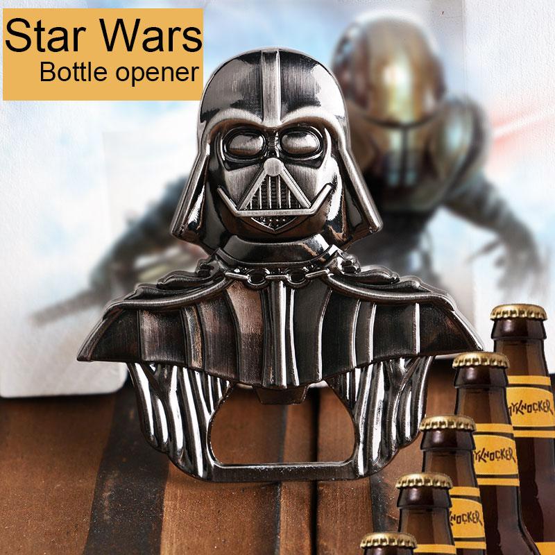 2//1X Star Wars Souvenir Metal Lord Darth Vader Wine Beer Drink Bottle Opener