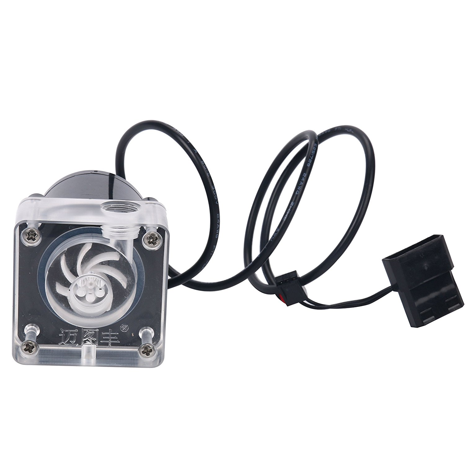 DC 12V 10W CPU Cooling Water Pump for Desktop Computer Cool System US Free Ship
