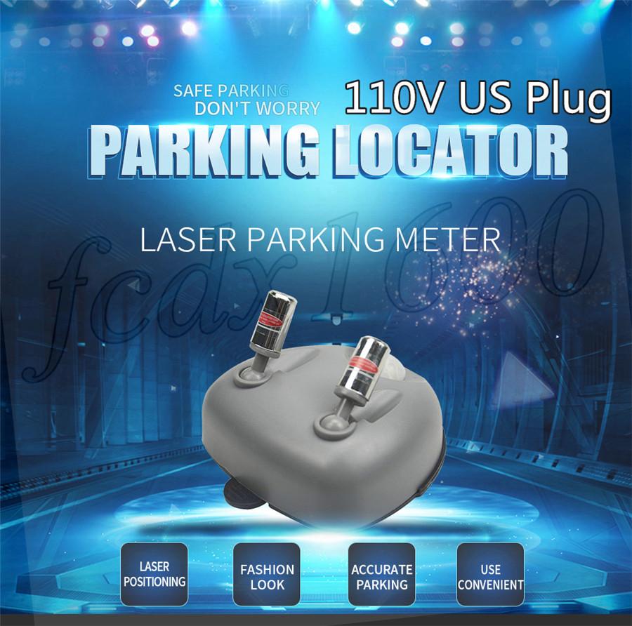 Dual Car Laser Sensor Garage Parking Assist Wall Stop