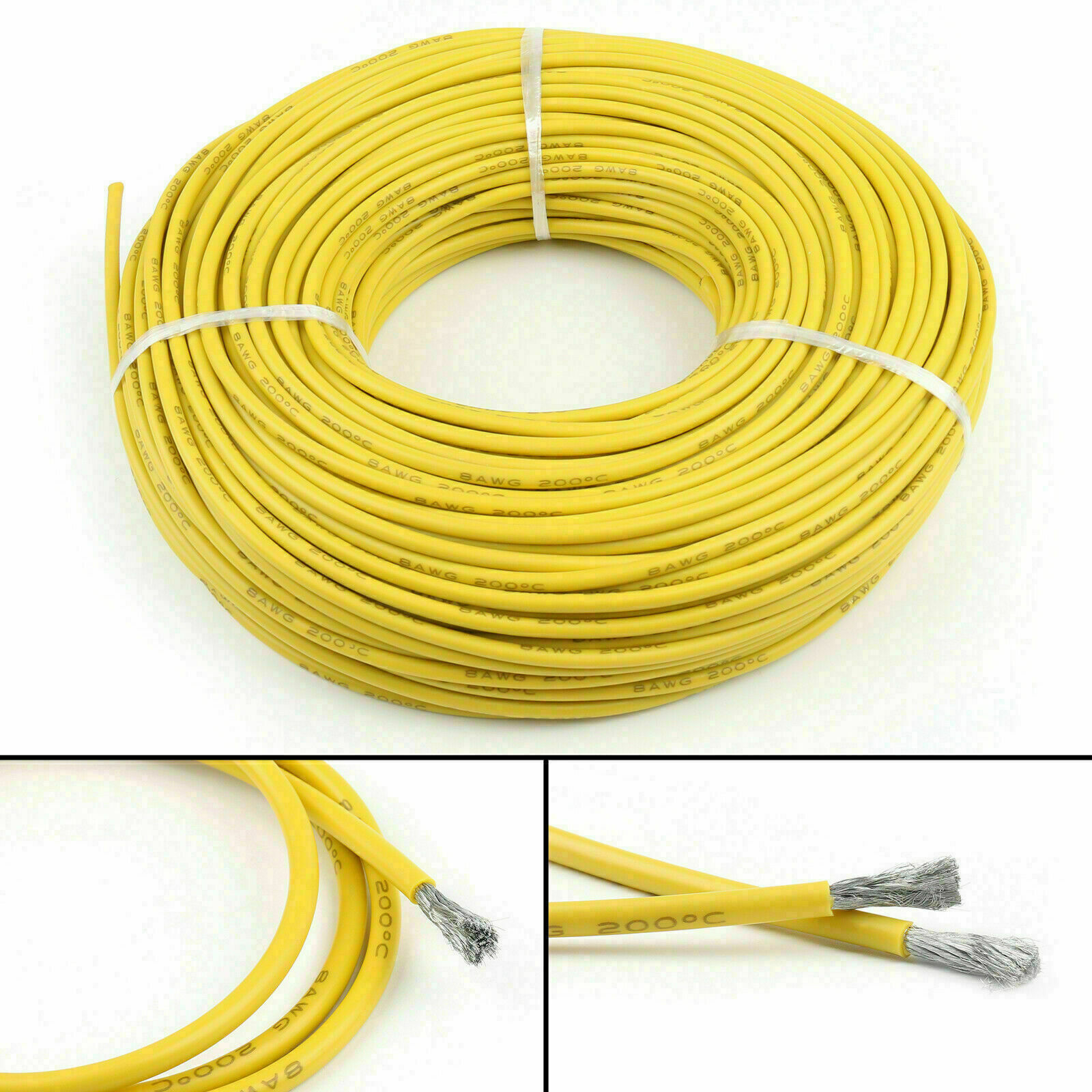 18 20 22 24 26 28AWG Silicone Wire Soft Cable Flexible Tinned Copper 2M 5M 10M