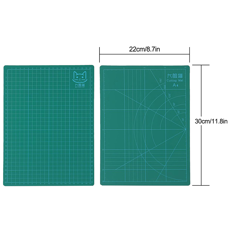 A5 PVC Schneidematte Stoff Leder Papier doppelseitig heilendes SchneidebretRSDE