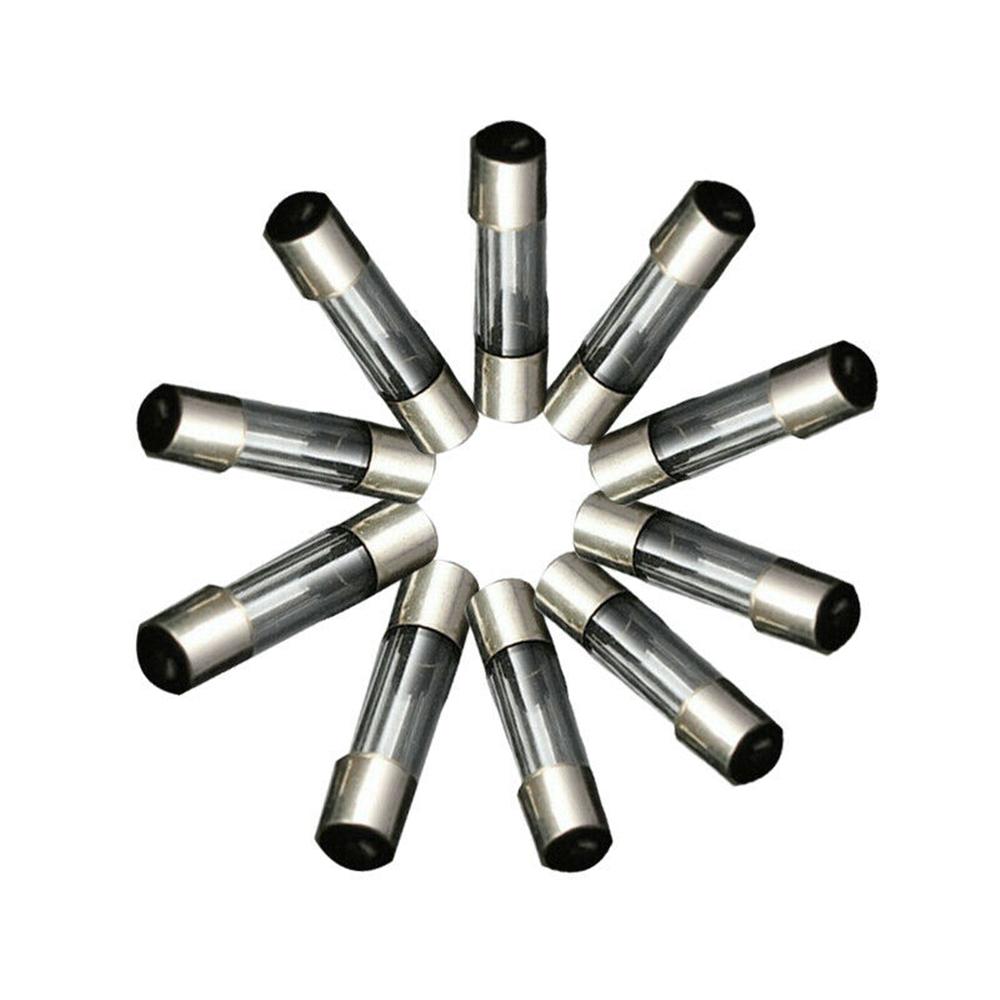 100x//Set 5x20mm Quick Blow Glass Tube Fuse Assorted Kits Fast-blow Glass FusesHV