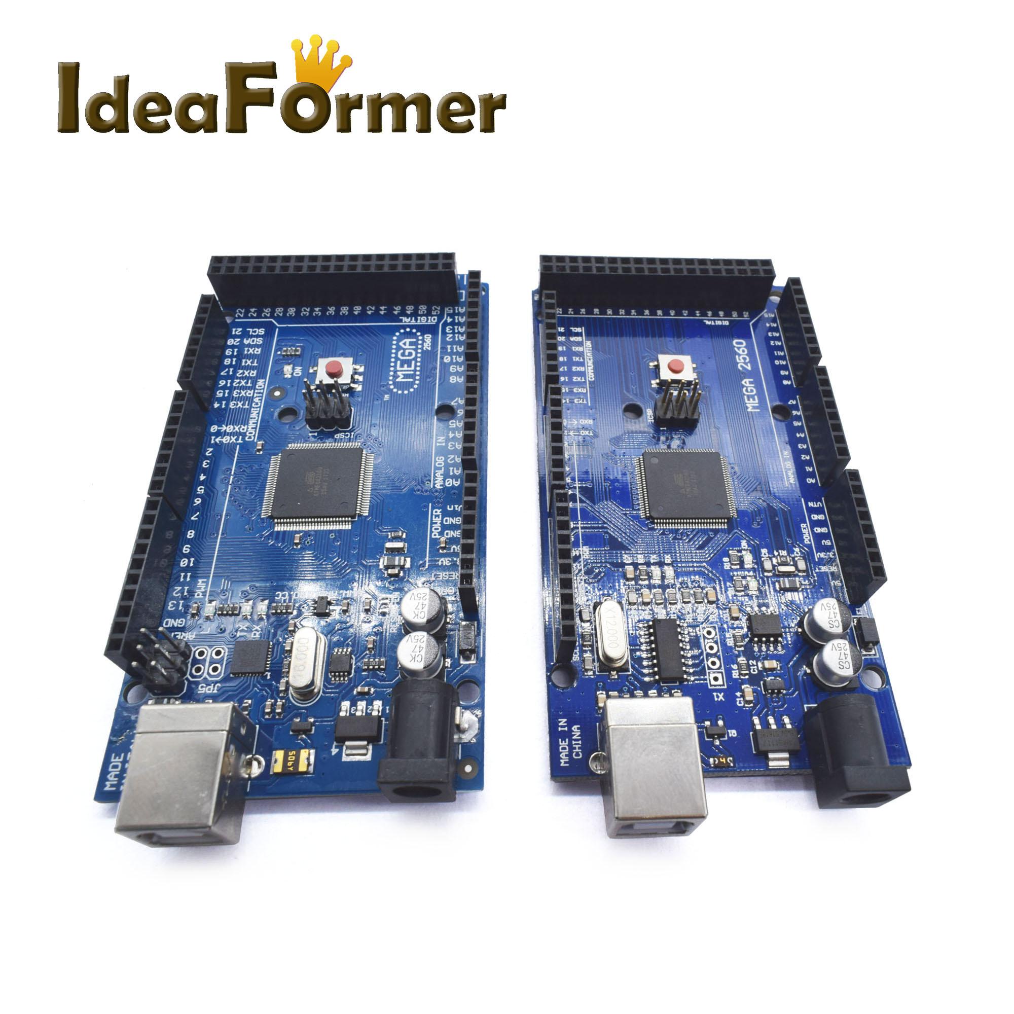 1pcs Mega 2560 R3 REV3 ATmega2560-16AU Board 3D Printer USB Cable