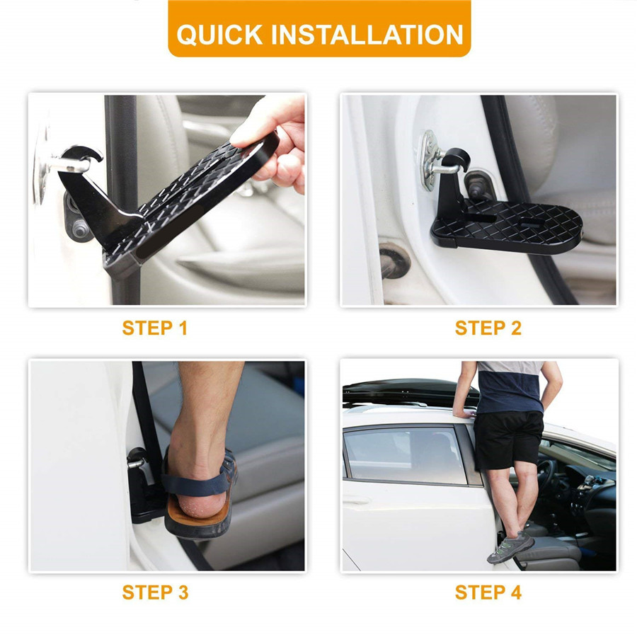 Folding Car Door Latch Hook Step Mini Foot Pedal Ladder For Jeep Suv Acura Mdx 2001 Navigation Radio Wiring Diagram Product Description