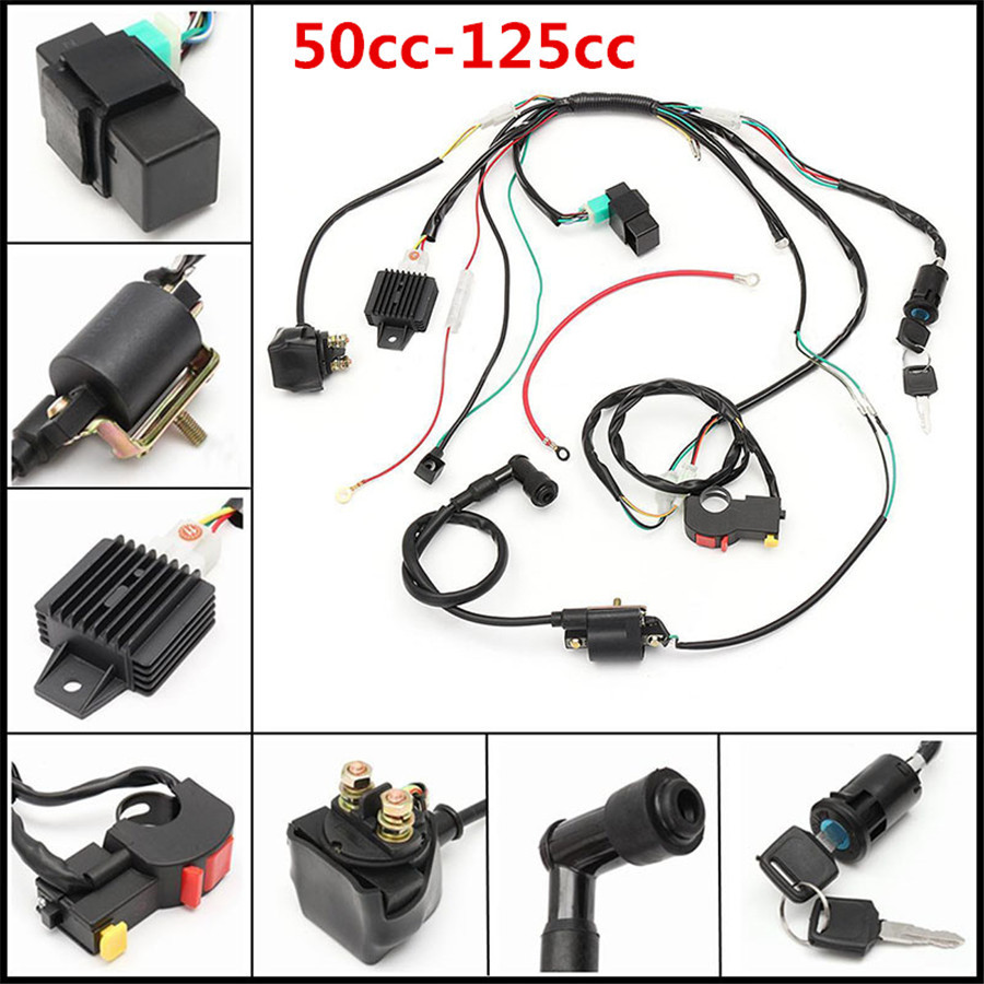 Bmx Atv Wiring Harness Opinions About Diagram Tao 110cc Detailed Schematic Diagrams Rh 4rmotorsports Com 100cc Parts